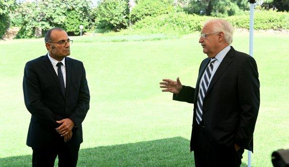 """שגריר ארה""""ב בישראל, מר דוד פרידמן, מתארח לראשונה באגודת הידידים ופעם ראשונה באוניברסיטת תל אביב"""