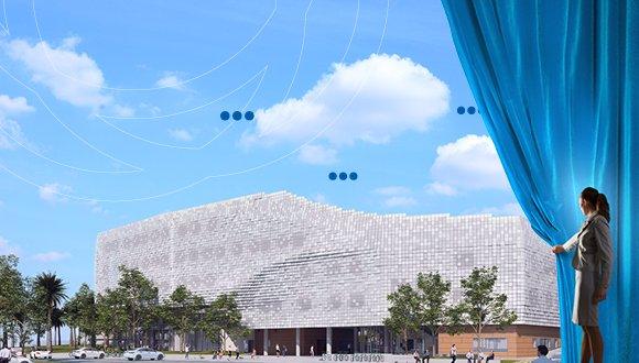 אירוע טרום פתיחה של בניין צ'ק פוינט החדש