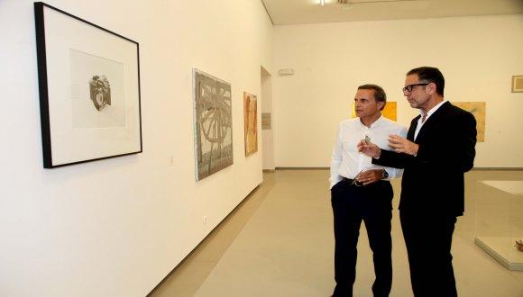 """פתיחה חגיגית של התערוכה """"שממה הורה"""", מאוסף יגאל אהובי לאמנות"""